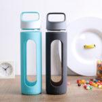 Botellas sin BPA de cristal